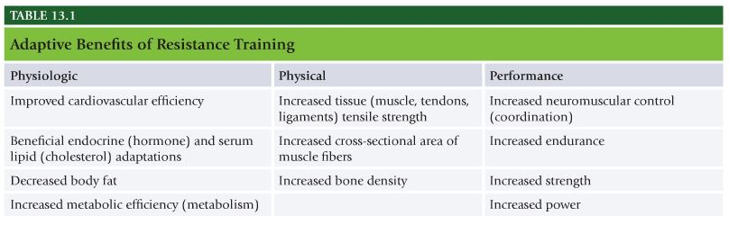Nasm Chapter 13 Resistance Training Concepts Alexanderfitness
